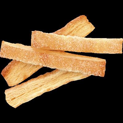 Палочки слоеные с сахаром